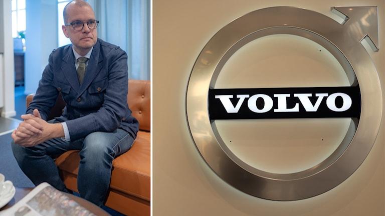 Joakim Bornold, sparekonom på Söderberg & Partners, säger att beskedet från Volvo det är ett negativt besked för Sverige.