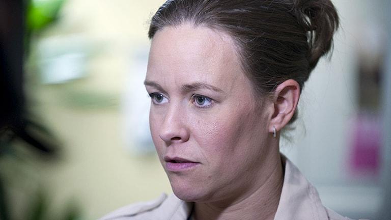 Miljöpartiets Maria Wetterstrand. Foto: Bertil Ericson/TT