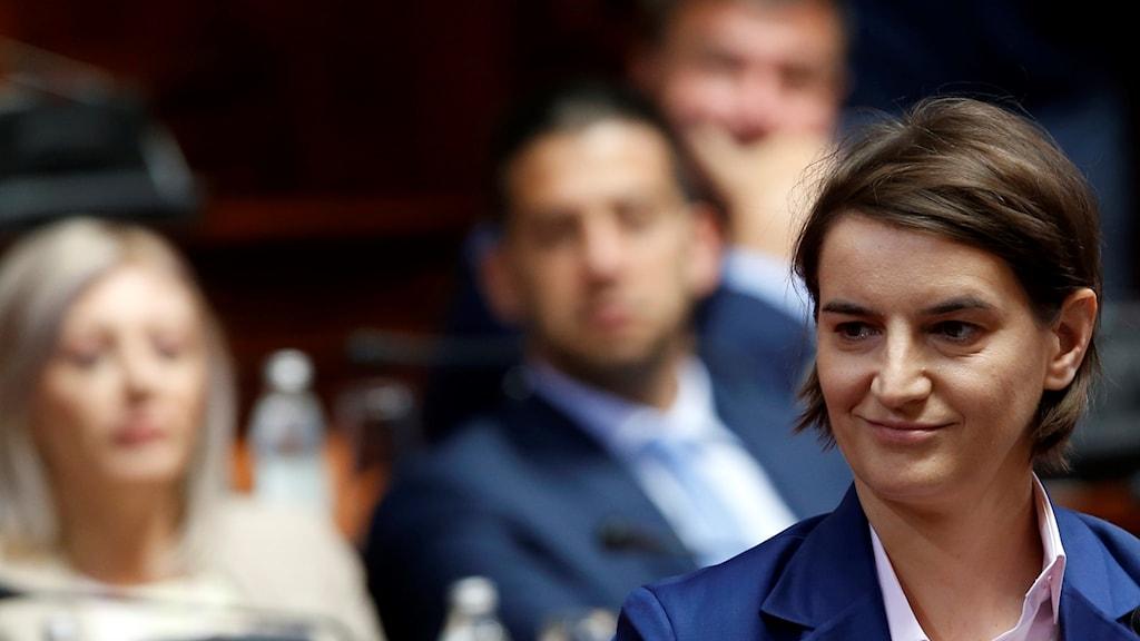 Serbiens nya premiärminister Ana Brnabic