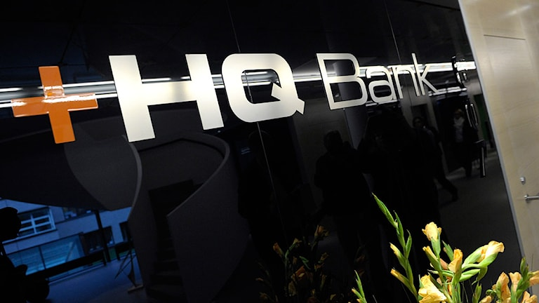 Logotyp HQ Bank.