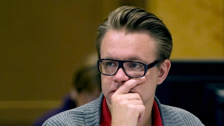 Fredrik Federley. Foto: Tommy Pedersen/Scanpix
