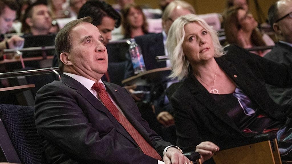 Stefan Löfven och Lena Rådström Baastad