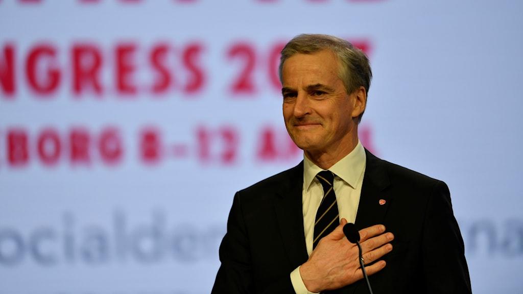 Jonas Gahr Støre Norsk politiker arbeiderpartiet