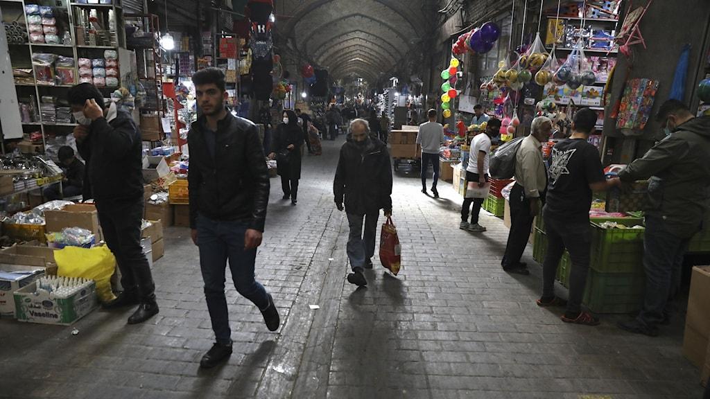 Iran kan gynnas och skadas av Biden