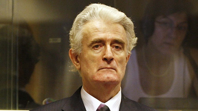 Radovan Karadzic. Foto: Jerry Lampen/TT