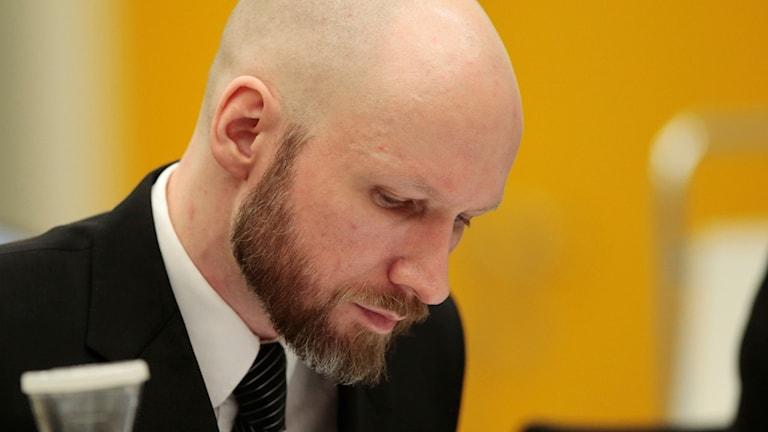 Massmördaren Anders Behring Breivik.