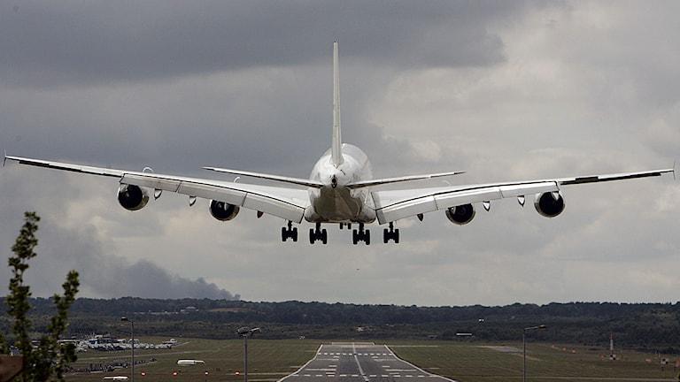 Airbus A 380. Foto: Lefteris Pitarakis/Scanpix.