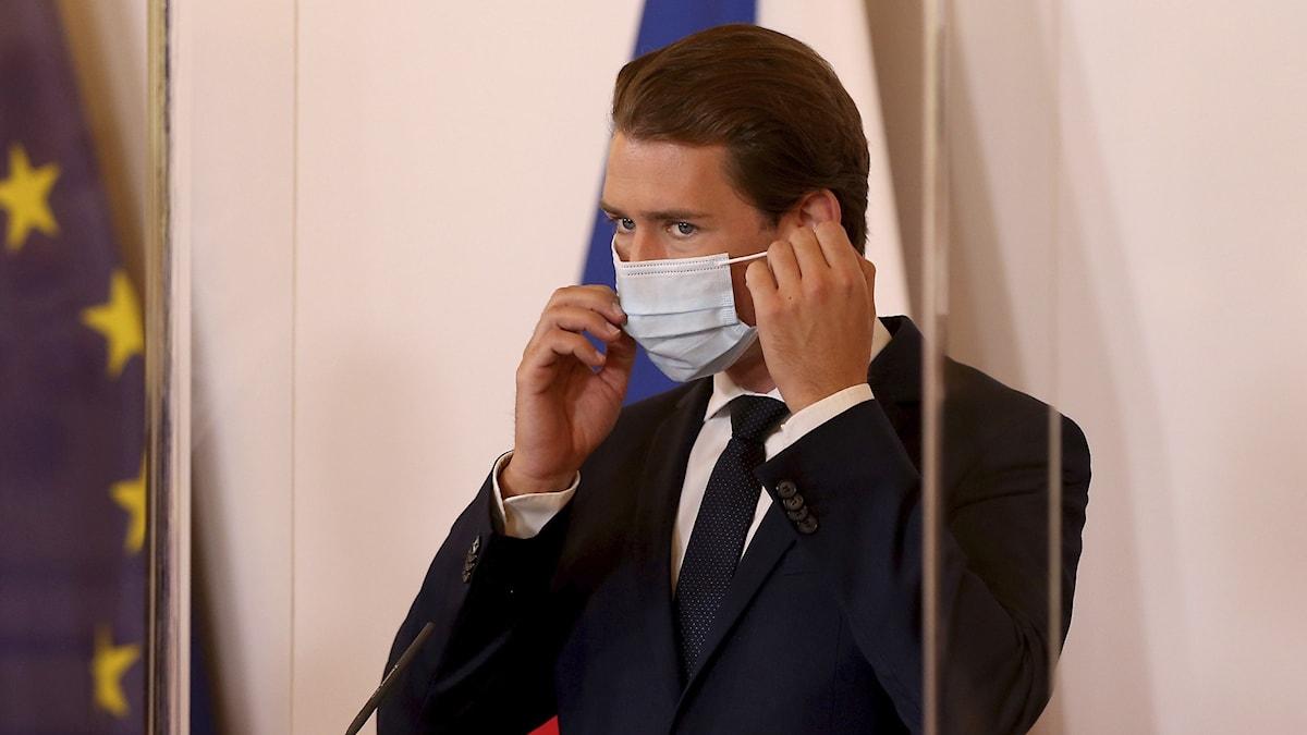 Österrikes förbundskansler Sebastian Kurz
