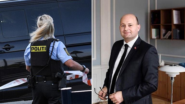 Dansk polis och Søren Pape Poulsen