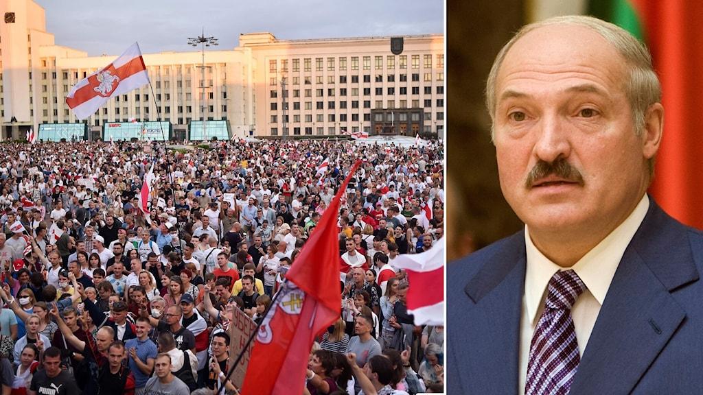 Belarus president Alexander Lukasjenko.