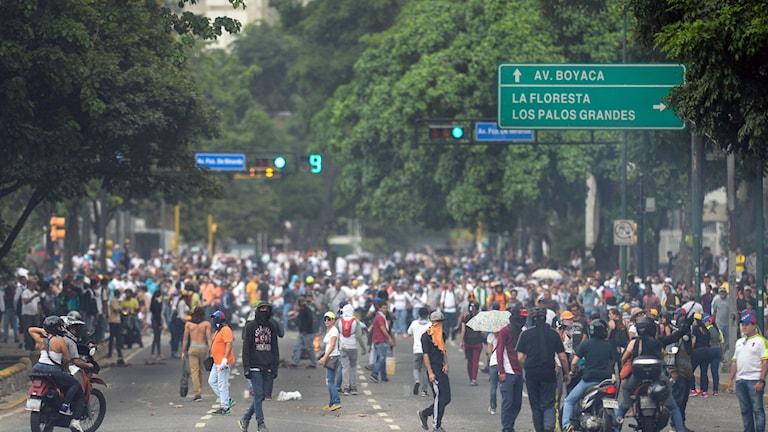 Oroligt i Venezuela