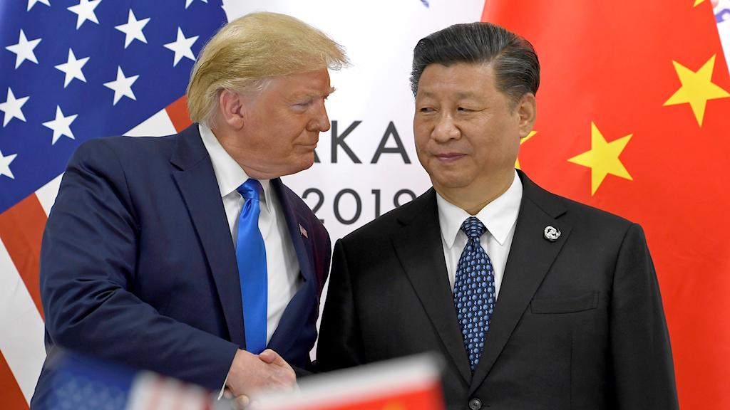 USA:s president Donald Trump möter Kinas ledare Xi Jinping.