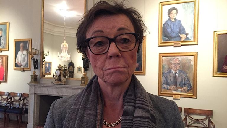 Annika Söder, xog-haynta wasaaradda arrimmaha dibadda Sweden.