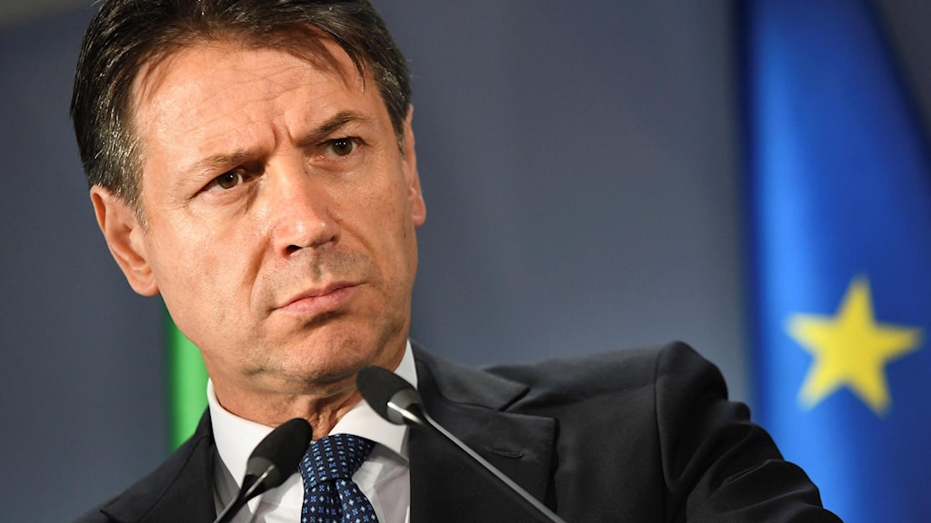 Italiens premiärminister Guiseppe Conte.
