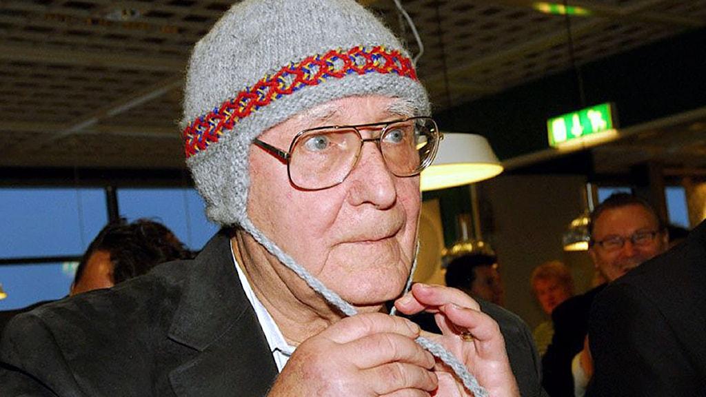 Ikeas grundare Ingvar Kamprad. Foto: Thord Nilsson/Scanpix.