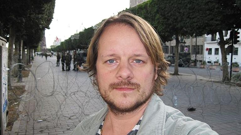 Johan-Mathias Sommarström. Foto: Sveriges Radio.