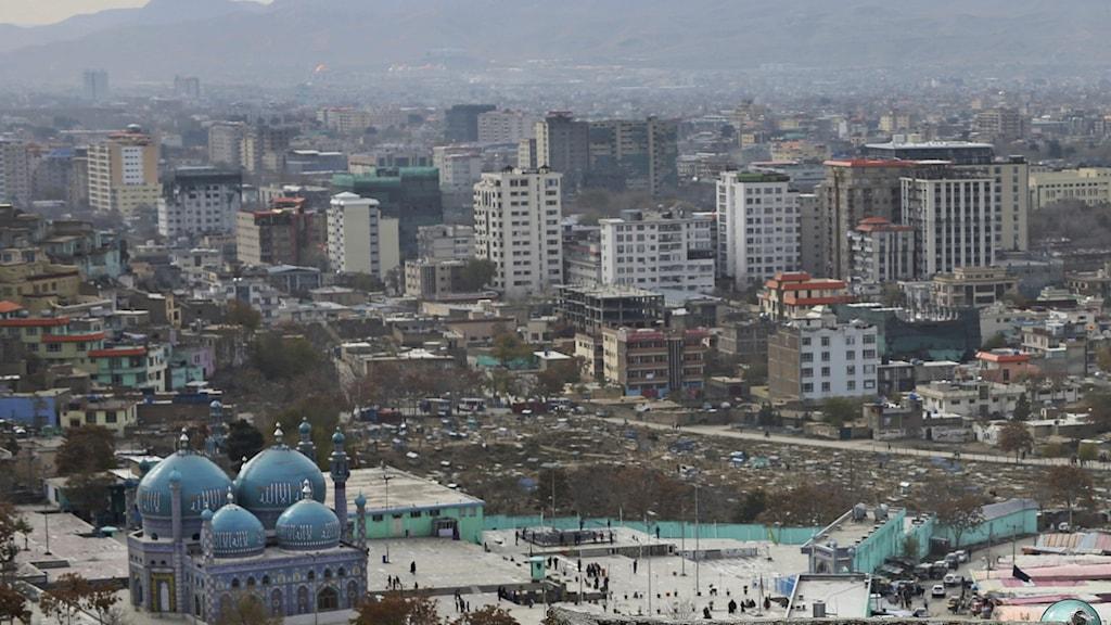 Kabul, huvudstaden i Afghanistan.