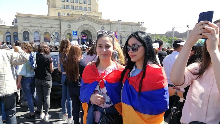 Jerevan, Armenien, protester