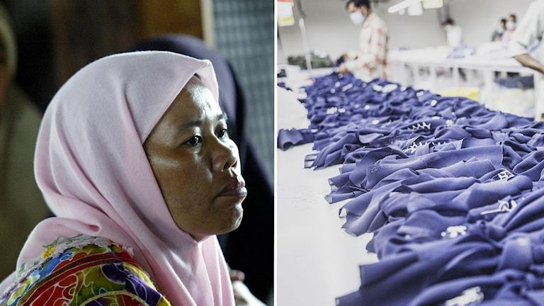 Textilarbetare riskerar förlora sina jobb