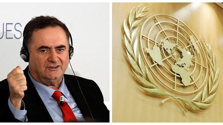 Israels utrikesminister Israel Katz kallar FN:s lista en skamlig eftergift för de länder som vill skada Israel.