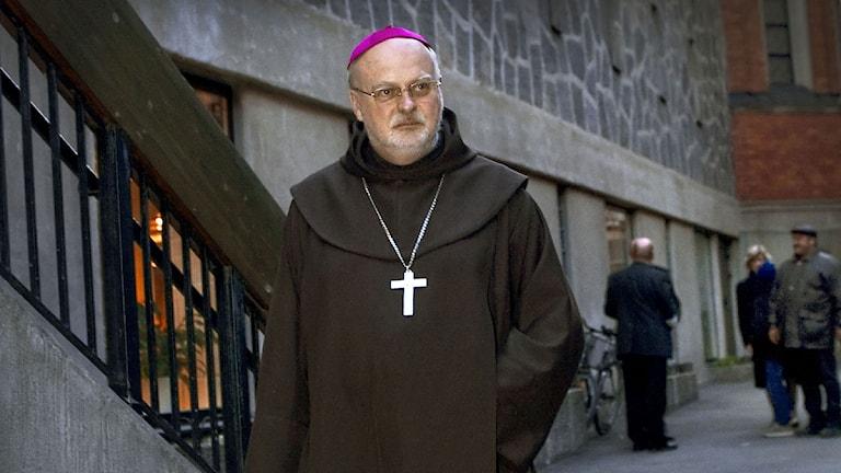Biskop Anders Arborelius. Foto: Claudio Bresciani/Scanpix