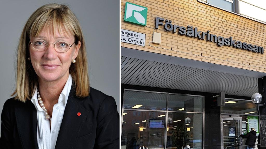 Socialutskottets vice ordförande Anna-Lena Sörenson (S)