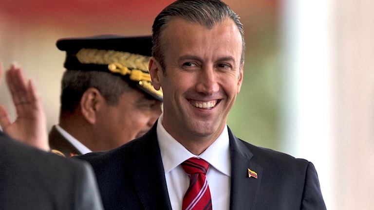 Venezuelas vicepresident Tareck el-Aissami
