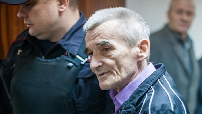 Den kände historikern Jurij Dmitrijev är fängslad.
