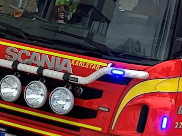 Ladugårdsbrand utanför Arvika