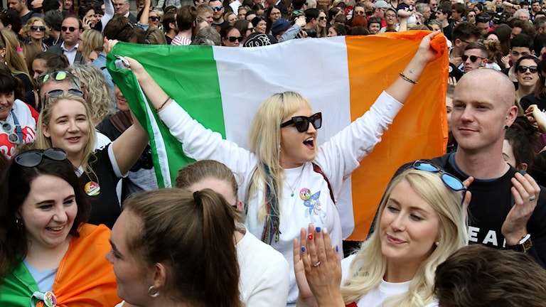 """""""Tyst revolution"""" förkunnas på Irland."""