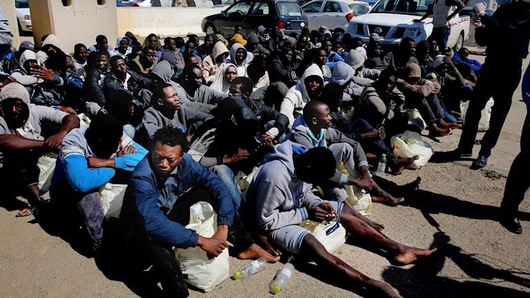 Hittills i år har cirka 34 000 migranter räddats utanför Libyen.