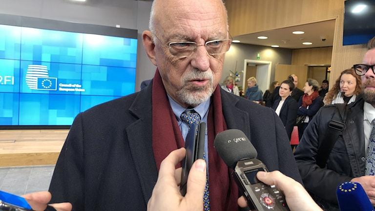 EU-minister Hans Dahlgren.