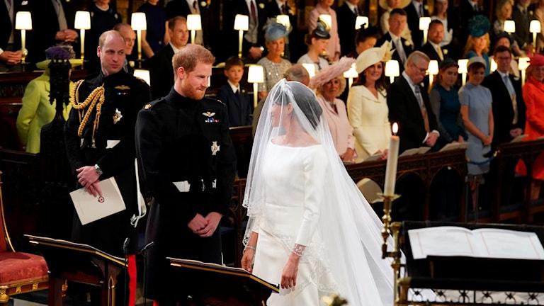 Prins Harry Meghan Markles bröllop