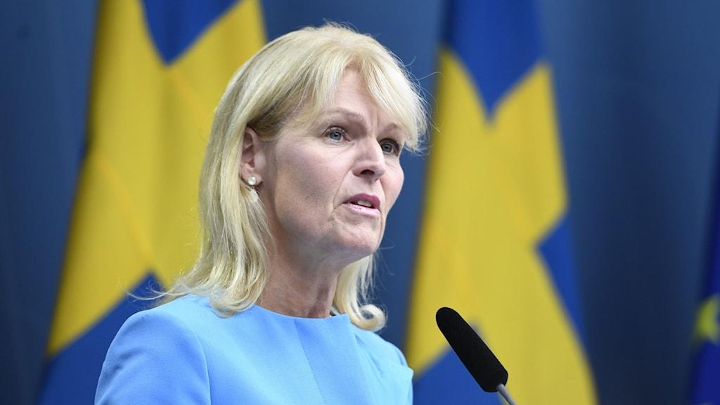 Anna Hallberg (S), utrikeshandelsminister