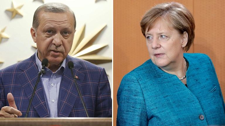 Angela Merkel Recep Tayyip Erdoğan