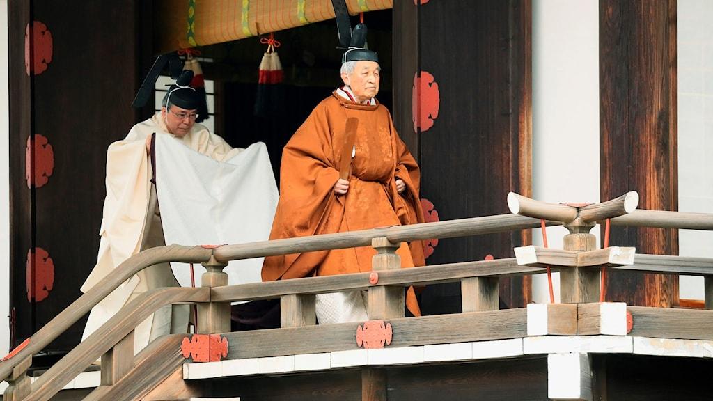 Efter 30 år har Japans åldrige kejsare Akihito lämnat tronen.