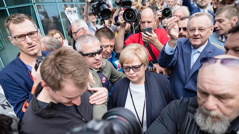 Malgorzata Gersdorf, ordförande i Polens Högsta Domstol