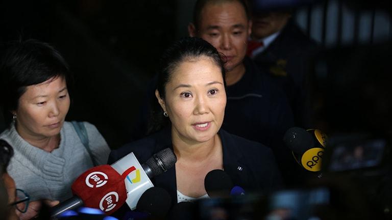 Keiko Fujimori, Peru