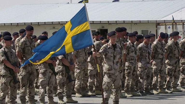 Svenska soldater, Isaf-styrkan, i Mazar Sharif, norr om KabulArkivfoto:Sameer Najafizada/Scanpix.