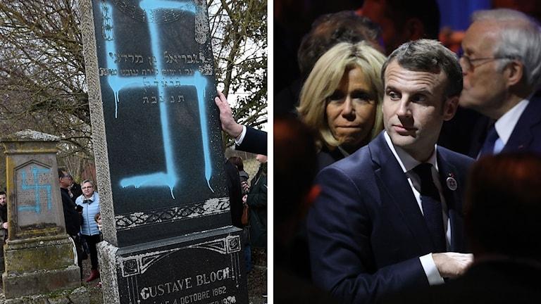 Emmanual Macron judiska gravar
