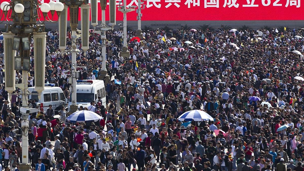 Folkmyller i Peking