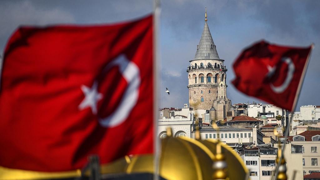 turkiska flaggor