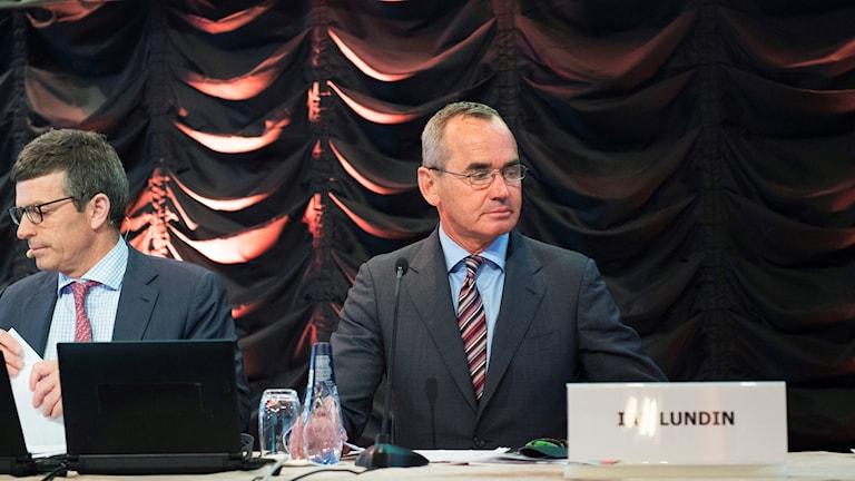 Lundin Petroleums ordförande Ian Lundin och vd Alex Schneiter
