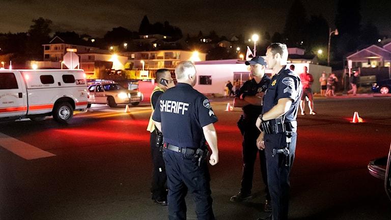 Polis i Seattle