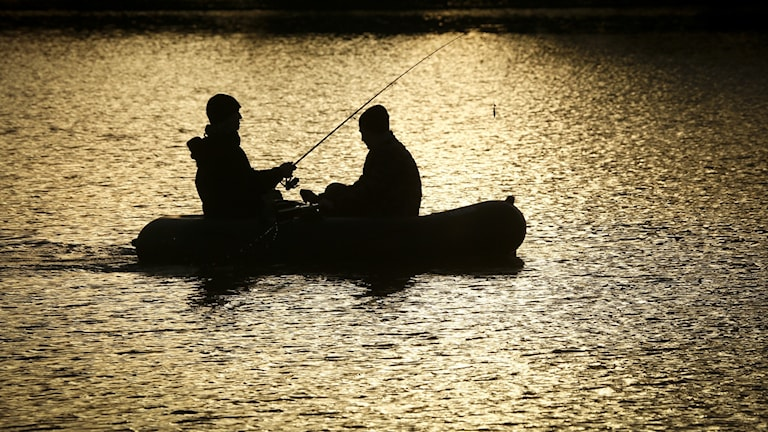 Fiskare i gummi