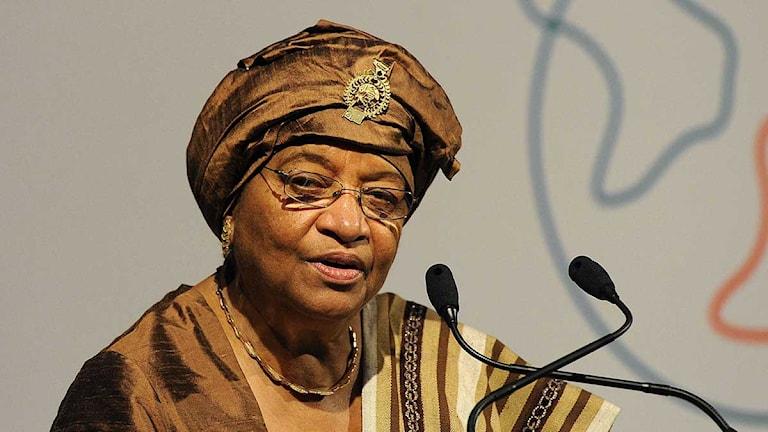 Liberias president Ellen Johnson-Sirleaf. Foto: Paul Hackett/Scanpix.