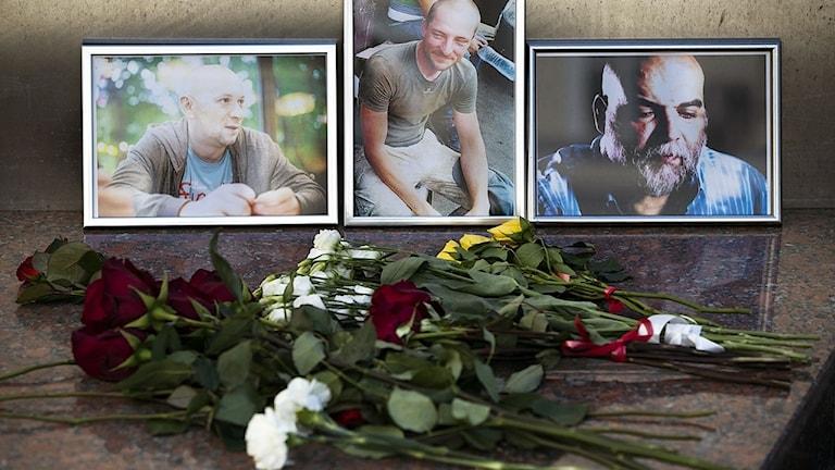 De dödade ryska journalisterna.