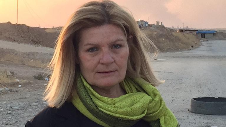 Cecilia Uddén. Foto: Sveriges Radio.