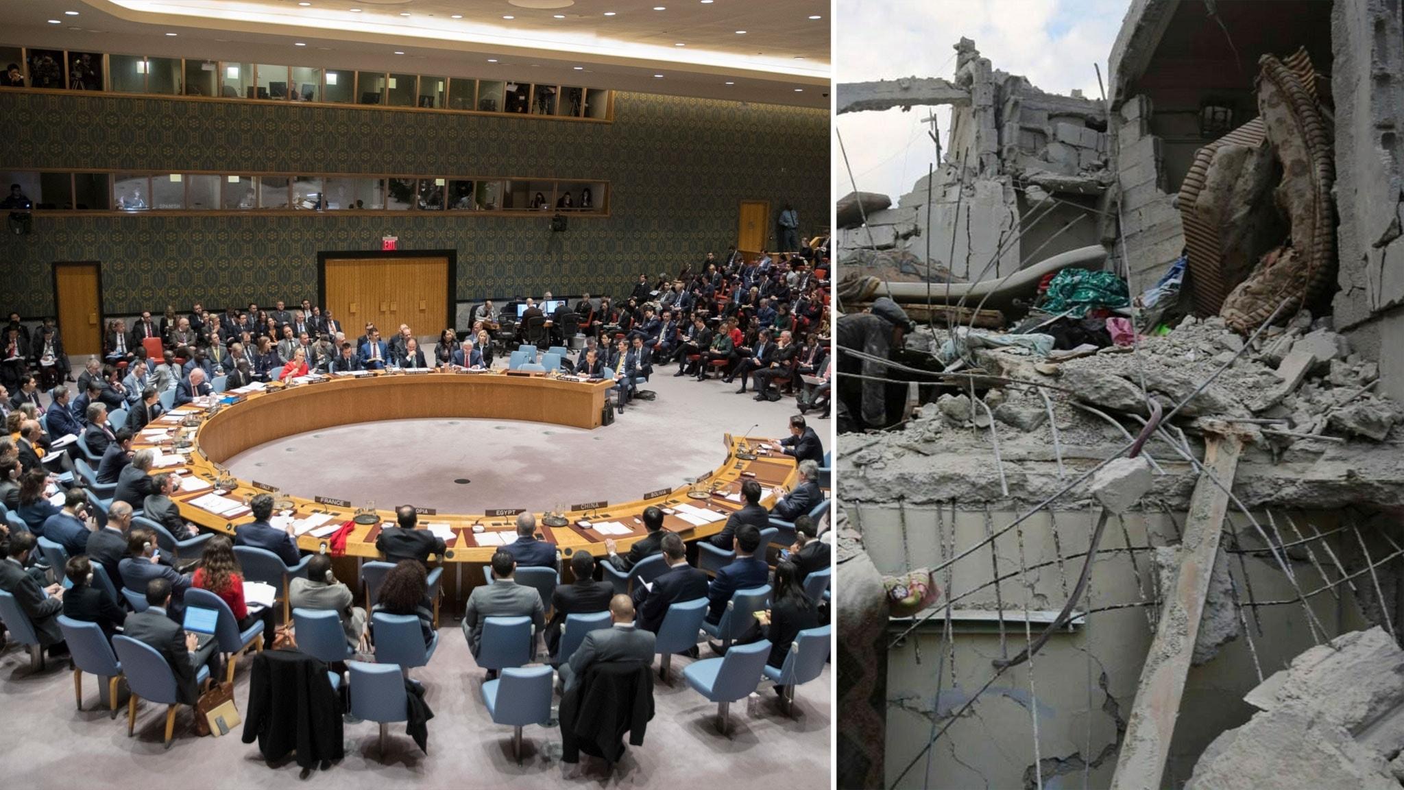Ryssland eldupphor i syrien orealistiskt