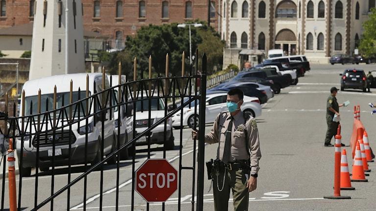 San Quentin fängelset i Kalifornien.